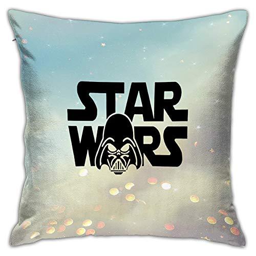 Gypsophila - Fundas de almohada con impresión 3D, diseño de Star Wars 1, funda decorativa cuadrada para sofá, decoración del hogar, 45 x 45 cm
