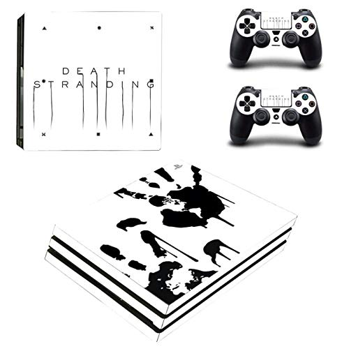 FENGLING Death Stranding Ps4 Pro Skin Sticker For Dualshock 4 Console And Controllers Ps4 Pro Skin Stickers Decal Vinyl