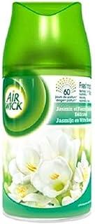 Airwick 6 x Navulling - Freesie & Jasmin - voor Freshmatic Max automatische luchtverfrisser - 250 ml