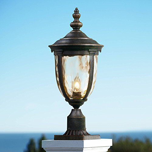 Bellagio Post Light Veranda Bronze 21