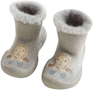 MAYOGO Calcetines Termicos de Felpa para Bebé Niño Lote Caricatura Calcetines Altos Invierno bebe Acogedor Calentar Grueso linda Calcetines para Niñas 0-36 meses