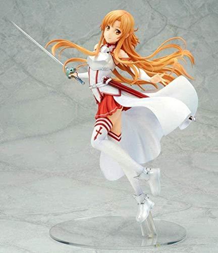 UUSOUQ Gifts Anime Figur Modell Spielzeug Asuna Theater Edition Schwertkunst Online-Sequenz Schlacht Sao Statue Dekoration GJF0902