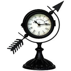 Ashton Sutton H986-10 Table Clock with Arrow