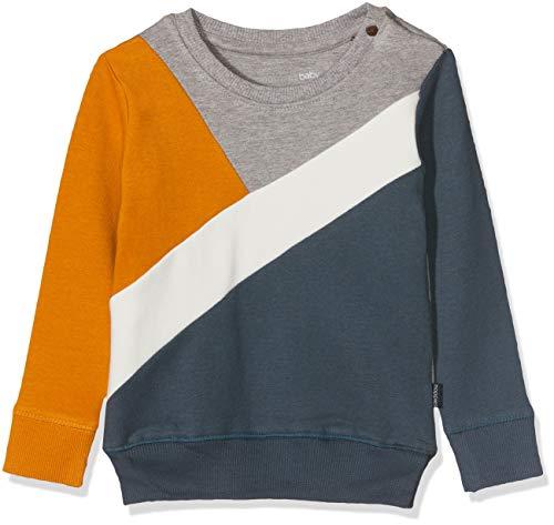 Noppies B Sweat LS Aberdeen Sudadera, Multicolor (Midnight Navy P228), 58 (Talla del Fabricante: 56) para Bebés