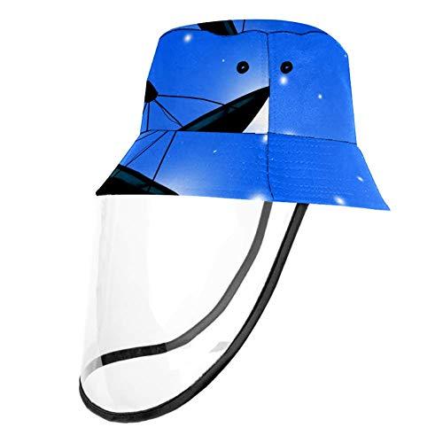 Tizorax Schutzkappe für Satellitenschüssel, abnehmbar, für Erwachsene und Kinder, mehrfarbig, Head Circumference 21.2 Inches(54cm)