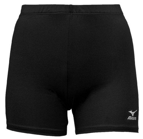 Mizuno Vortex Volleyball Short, Black, Small
