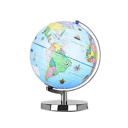 AR Globe Augmented Reality onderwijswereld Aardrijkskunde Ar Experience Map Unique Embossment Toy Jongens Meisjes Leeftijd 4 tot 10 jaar for Kids