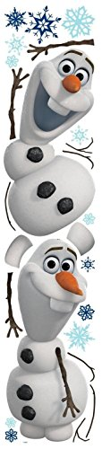 RoomMates Disney Frozen Olaf The Snow Man Peel And Stick Wall Decals - RMK2372SCS