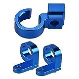 RONGLINGXING Pieces de Sport Motorise Ligne de frein arrière avant Câble Porte-Clamp Suzuki DRZ 400SM DRZ400SM 400 SM 2005-2017 RMX450Z 2010 2011 RMX 450Z DRZ400SM (Color : Blue)