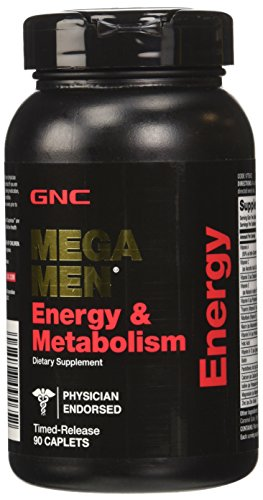 GNC Mega Men Energy and Metabolism Supplement, 90 Count