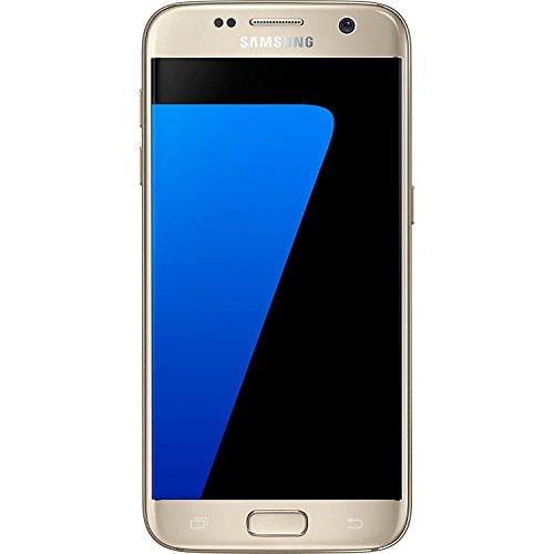 Samsung Galaxy S7 SM-G930 - 32GB - GSM Unlocked - Gold Platinum (Renewed)