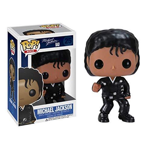 Vinyl Bobble-Head POP Michael Jackson Auto-Dekoration (Color : C)