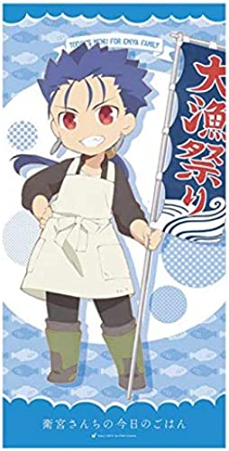 barato y de alta calidad SEGA TODAY'S MENU FOR EMIYA EMIYA EMIYA FAMILY premium bath towel Vol.2 120cm Lancer anime  popular