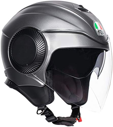 Casco Orbyt AGV Solid Mate Grey L