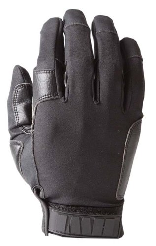 HWI Gear K-9 Handlers Gloves, Medium, Black