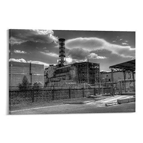 DRAGON VINES Póster de la película American Disaster Movie Chernobyl Art Art Art Art Kitchen (20 x 30 cm)