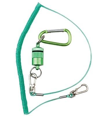 Dr. Slick Magnetic Net Keeper, Green, w/ Net Bungee Cord