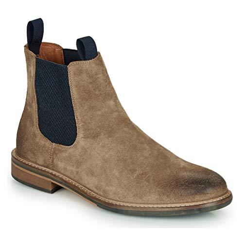 SCHMOOVE PILOT-CHELSEA Enkellaarzen/Low boots heren Bruin/Blauw Laarzen