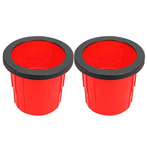 Best Deals! TOYANDONA 2pcs Walkaroo Stilts PE Plastic Bucket Stilts Non Slip Balance Game Toy Walkin...
