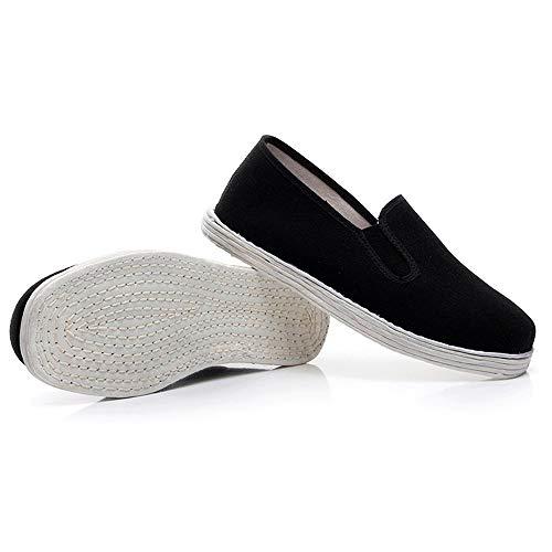 Chaussures à Semelle en Coton Kung Fu Tai Chi pour Arts Mart