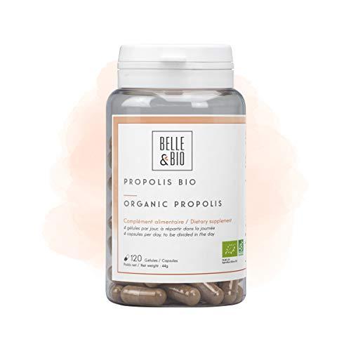 Belle&Bio Propolis Bio 144 Mg/Gélule Défenses Naturelles Certifié Bio Par Ecocert Fabriqué en France