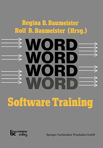 Word Software Training (German Edition)