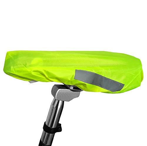 mumbi Sattelabdeckung Sattel Regenschutz Sattelbezug Fahrradsattelschutz Fahrradsattelabdeckung Satteldecke