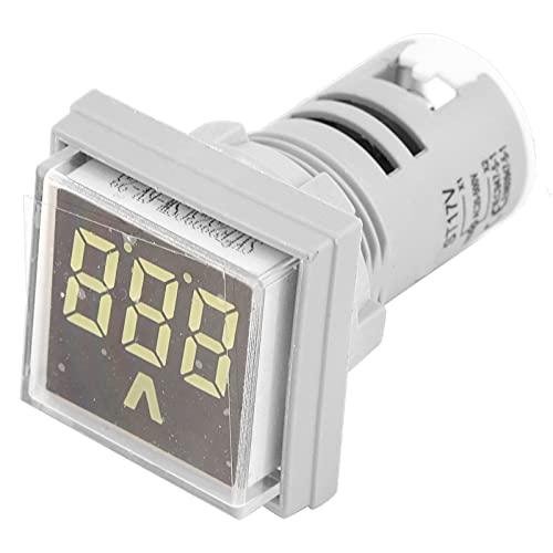 Indicador de probador de voltaje, indicador de voltaje 60-500V Cuadrado Tamaño pequeño...