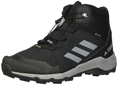 adidas Outdoor Kids' Terrex MID GTX Hiking Boot, Black/Grey three/carbon, 11.5K Child US Little Kid