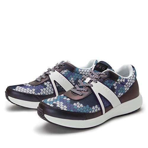 Alegria TRAQ Qarma 2 Womens Smart Walking Shoe Honeycomb Purple 8-8.5 M US