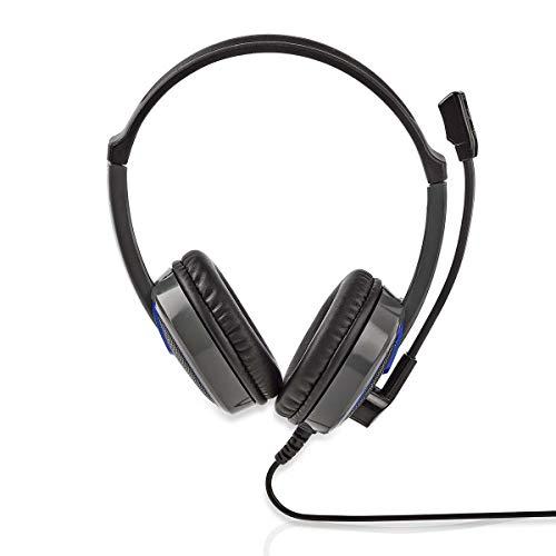 Nedis headset voor hoofdtelefoon met microfoon