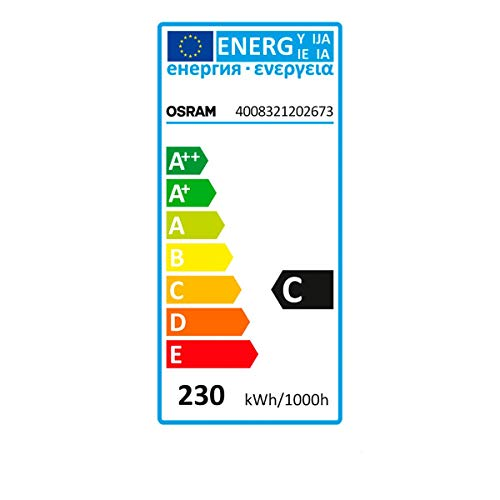 Osram HaloLine Halogen-Röhre, R7S-Sockel, dimmbar, 230 Watt, Warmweiß - 2950 K