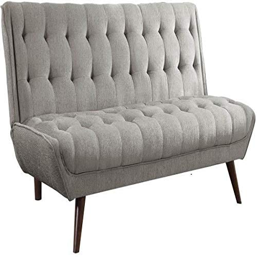 Coaster Fine Furniture 505608 Sofá Cama, 76' x 39.5' x 34', Color Gris, Paquete de 1