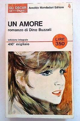 Dino Buzzati: Un amore ed. Mondadori [SR] A71