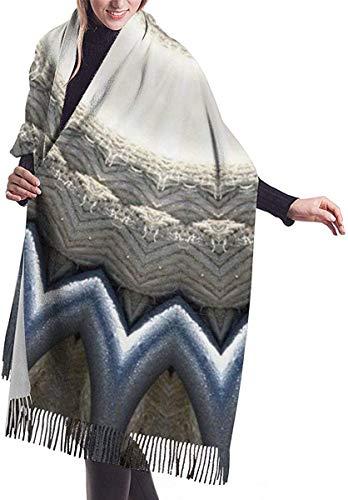 Diseño Patrón Textura Estructura Fondo Imitar Cachemira Sensación Invierno Bufanda Pashmina Mantón Envolturas Suave Manta Caliente Bufandas Elegante Envoltura Para Mujeres