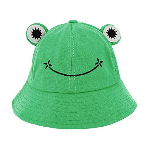 Testudineus Cotton Breathable Animal Anti UV Sun Protection Bucket Hat Outdoor Cap for Girls Women