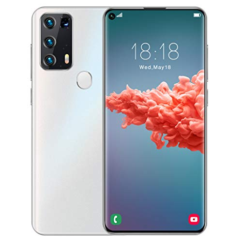 Y50Pro GSM 4G entsperrtes Smartphone, Android 6 Quad-Core 2 GB + 16 GB, 7,2-Zoll-Wassertropfenbildschirm, entsperrte Dual-SIM-Handys, 5 MP + 2 MP Kamera, 2800 mAh Gesichts-ID-Fingerabdruck