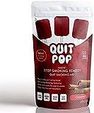QuitPop/Remedio natural para fumar y fumar alternativa para ayudar a reducir los antojos y reemplazar el tabaquismo/segura y fácil manera de dejar de fumar (5 unidades, canela).
