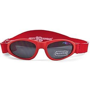 Gafas de Sol Niña y Niño – Gafas de sol Infantiles para Bebes con Diadema de Neopreno Ajustable y Funda de Transporte – 100% de protección UV - de 3 Meses a 2 Años