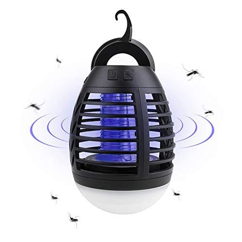 Toomett Lámpara repelente de mosquitos, luz UV, segura para niños, 2 en 1, con USB, para camping, para interior y exterior