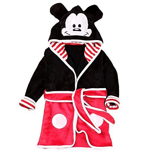 Badjas - muis - slaapkamer badjas - pyjama - nacht - zacht fleece - kinderen - karakters - met capuchon - origineel cadeau idee