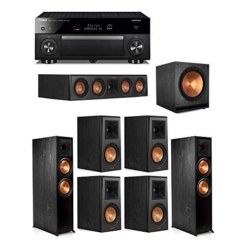 For Sale! Klipsch7.1.2 Ebony System - 2 RP-8060FA,1 RP-404C,4 RP-500M,1 SPL-150,1 RX-A1080 Receive...