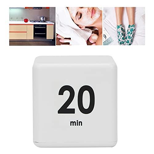 Temporizador giratorio, materiales plásticos de alta calidad Resistente al desgaste y duradero Temporizador giratorio de cocina liviano Volumen ajustable para cocinar(15-20-30-60 minutes)