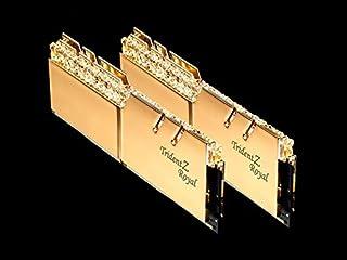 G.Skill DDR4メモリ TridentZ Royalシリーズ DDR4-3200 16GBKit(8GB×2枚組)国内正規品 特典ステッカー付き F4-3200C16D-16GTRG