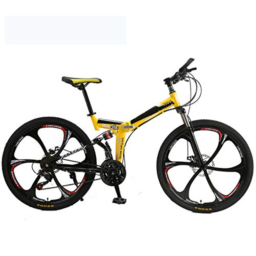 Overdrive harde tail mountainbike vouwfiets fiets 26
