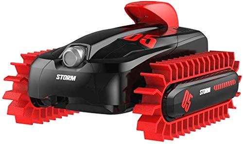 WEN Anfibio Coche teledirigido 4WD Truco de Carga a Distancia Control de Vehículo (Color : Red)