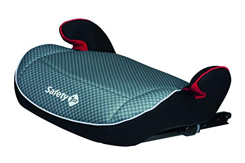 Safety 1st Manga Fix Booster, ISOFIX, Compact design, Easy Installation, Group 3, 6 to 10/12 Years, Up to 36 kg, Pixel Grey