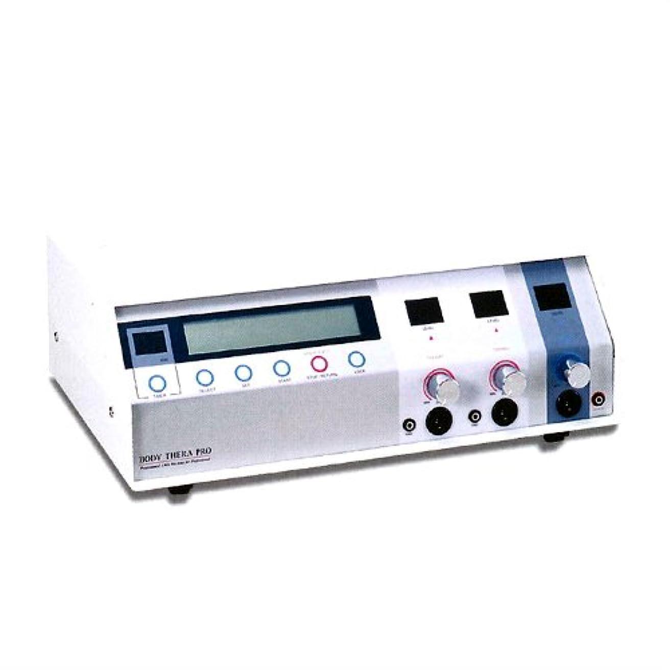 ゴム背景橋脚回転式ポイント通電電流刺激美容器 伊藤超短波 ボディセラプロ
