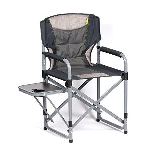 Siehe Beschreibung Campingstuhl mit stabilem Stahlrahmen,gepolsteter Sitzfläche und Tisch • Klappstuhl Faltstuhl Gartenstuhl Stuhl Klappsessel Sitz