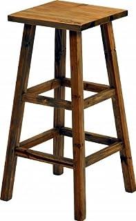 mokuシリーズ『木製フラワースタンド ハイスクエア』【IT】ブラウン(#9847290)サイズ:幅28.5×奥行28.5×高さ55cm